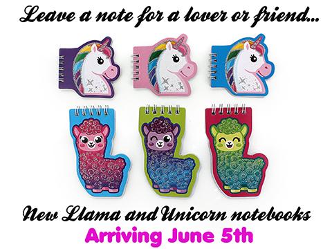 New_Cute_Unicorn_and_Llama_Notebooks_Arriving_June_5th.jpg